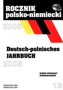 """""""Rocznik Polsko-Niemiecki"""", nr 13 (rocznik 2005)"""