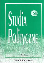 Studia Polityczne, vol. 33 (2014 nr 1)