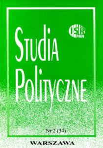Studia Polityczne, vol. 34 (2014 nr 2)
