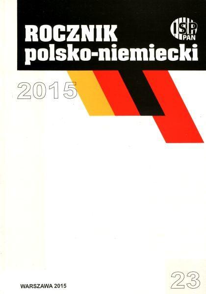 Rocznik Polsko-Niemiecki nr 23 (rocznik 2015)