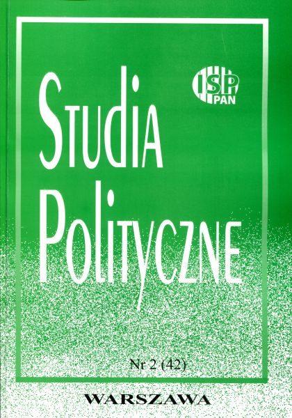 Studia Polityczne vol. 42 (2016 nr 2)