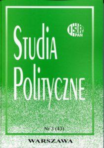 Studia Polityczne, vol. 43 (2016 nr 3)