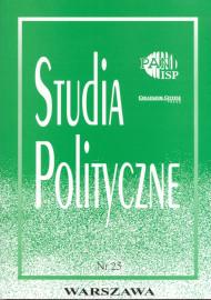Studia Polityczne, vol. 25 (2010 nr 1)
