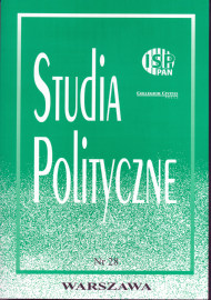 Studia Polityczne, vol. 28  (2011 nr 2)