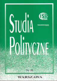 Studia Polityczne, vol. 30  (2012 nr 2)