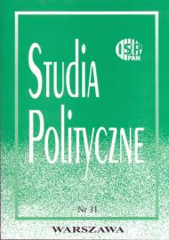 Studia Polityczne, vol. 31 (2013 nr 1)