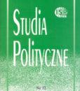 Studia Polityczne, vol. 32 (2013 nr 2)