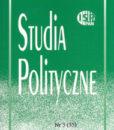 Studia Polityczne, vol. 35 (2014 nr 3)