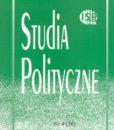 Studia Polityczne, vol. 36 (2014 nr 4)