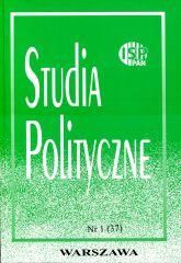 Studia Polityczne, vol. 37 (2015 nr 1)