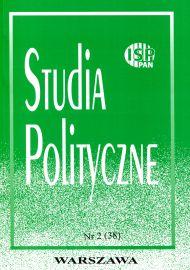 Studia Polityczne, vol. 38 (2015 nr 2)