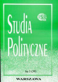 Studia Polityczne, vol. 39 (2015 nr 3)