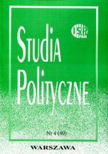 Studia Polityczne, vol. 40 (2015 nr 4)