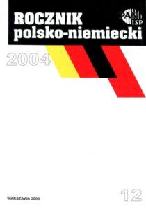 Rocznik Polsko-Niemiecki, nr 12 (rocznik 2004)