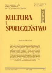Kultura i Społeczeństwo, 2004 nr 4 : Media stare i nowe
