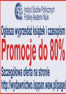 Instytut Studiów Politycznych PAN - noworoczna promocja książek i czasopism