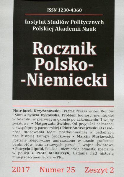 Rocznik Polsko-Niemiecki, nr 25, z. 2 (rocznik 2017)