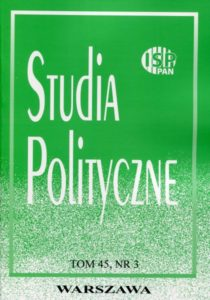 Studia Polityczne, 2017, tom 45, nr 3