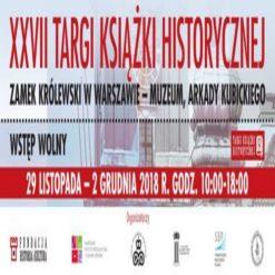 Targi Książki Historycznej w Warszawie 2018