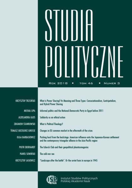 Studia Polityczne, tom 46, nr 3 (2018)