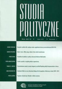 Studia Polityczne, tom 47 (2019), nr 1