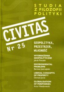Civitas. Studia z filozofii polityki, nr 25 (2019)