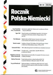 Rocznik Polsko-Niemiecki, nr 28 (rocznik 2020)