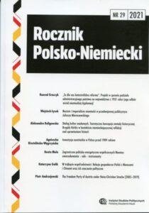 Rocznik Polsko-Niemiecki, nr 29 (rocznik 2021)